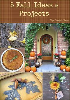 Five Fall Ideas & Projects to make your home more fabulous / gorgeous photography in this post!