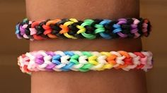 raindow loom - YouTube