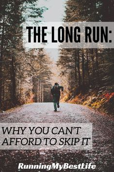 If you're training for a half or full marathon, the long run holds a crucial place in developing your distance running stamina. #longrun #marathontraining #halfmarathontraining