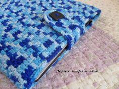 Case Laptop - Crochê  Häkeln crochet ganchillo