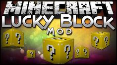 Lucky Block Mod for Minecraft 1.8/1.7.10