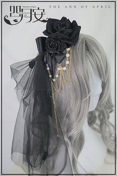 The Ann of April -Puppet Bride- Gothic Lolita Accessories