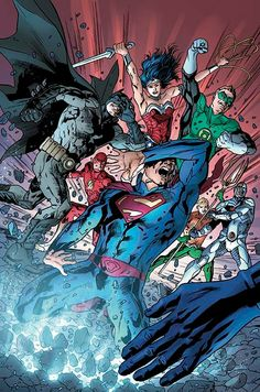 JUSTICE LEAGUE OF AMERICA #2 Written by BRYAN HITCH Art by BRYAN HITCH and WADE VON GRAWBADGER Cover by BRYAN HITCH