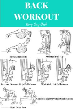 This back day workout will help you strengthen your lower back muscles as well as strengthen your upper body. Get rid of back fat and bra bulge with this back day workout!