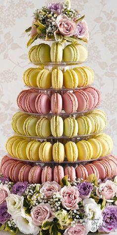 Frivolous Fabulous - Macaron Tower Frivolous Fabulous Tea Suite