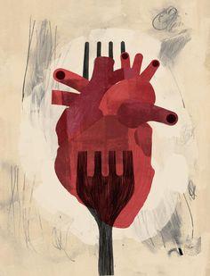 Keith Negley | Heart Art