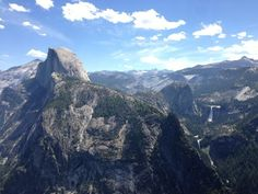 View from Glacier Point, just a short drive from the house.