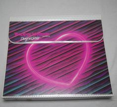 RADICAL Vintage 80s Neon Heart TRAPPER KEEPER by SugarlilyVintage