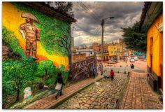 Street Art in Bogota, Colombia Destinations, Colombia Travel, South America Travel, New York Street, Best Cities, Graffiti Art, Art World, Cali, Columbia