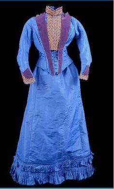 Les robes à tournure