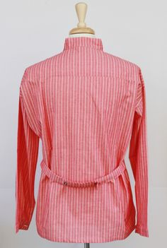 Striped Red - cotton