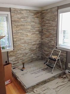Home Remodeling Wood How to Install a Wood Stove in Your Manufactured Home Wood Stove Surround, Wood Stove Hearth, Stove Fireplace, Wood Burner, Wood Stove Wall, Indoor Wood Stove, Wood Stove Heat Shield, Diy Wood Stove, Fireplace Ideas