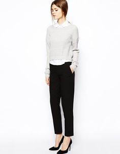 ASOS | ASOS Cigarette Pants in Crepe at ASOS