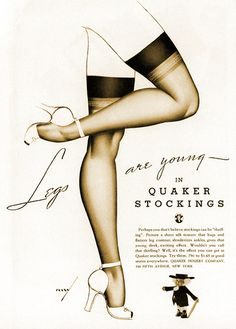 vintage stockings ads | Recent Photos The Commons Getty Collection Galleries World Map App ...