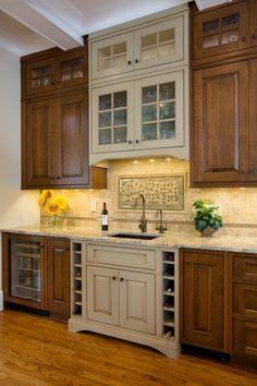DIY:: Beautiful Kitchen Makeover (all DIY Details)