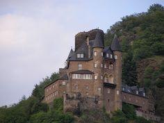 Burg Katz (Castle Katz), St. Goarshausen, Germany