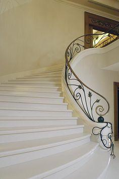 Corian stairs