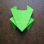 Origami Instruction Easy Frog