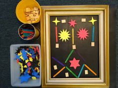 Inspired Montessori and Arts at Dundee Montessori: Free Form in a Large Frame Design