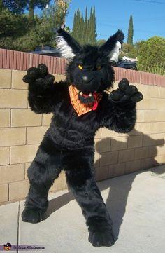 Big Bad Wolf - Homemade Halloween Costume