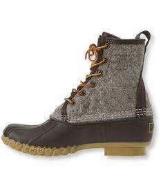 "Women's Bean Boots by L.L.Bean, 8"" Felt: Casual Boots | Free Shipping at L.L.Bean"