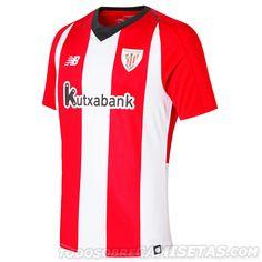 568a587e16cb8 Camiseta New Balance de Athletic Club 2018-19 La Liga