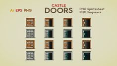 Castle Doors has just been added to GameDev Market! Check it out: http://ift.tt/1JUSytl #gamedev #indiedev