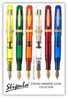 Stipula Etruria Rainbow fountain pen
