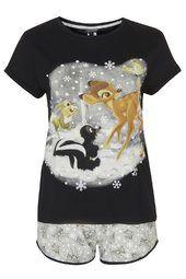 Bambi Pyjama Tee and Shorts Set