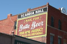 """While we were passing this sign Cooper stops and says """"Look, Butt Beer!  Naughty word""""."""
