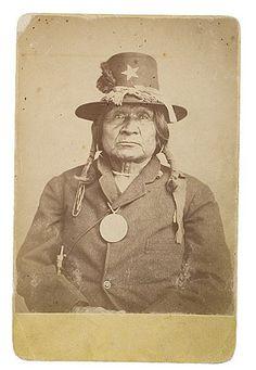 Tosh-A-Wah (aka Silver Broach) - Comanche - circa 1872