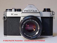 pentax k1000 | Asahi Pentax K1000 with SMC Pentax-M 50mm f/2.0