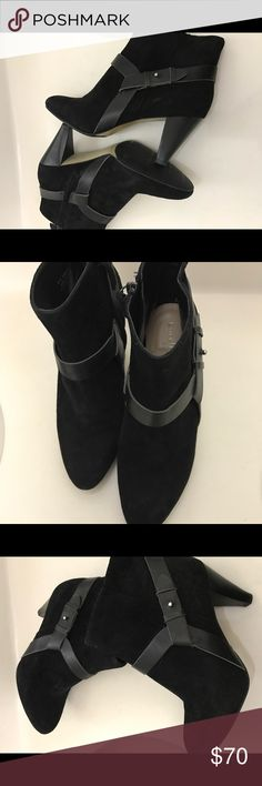"""⭐️Cute Cole Haan Ankle Boots ⭐️Cute Cole Haan Ankle Boots in gently used condition. G12 D38414                                                           Size:7.5 B  Heel:3"""" Cole Haan Shoes Ankle Boots & Booties"""