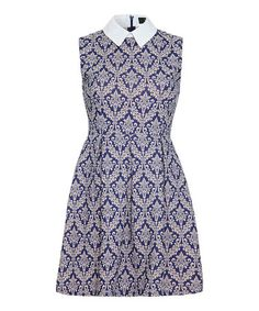 Take a look at this Iska: Purple Wallpaper Print Dress by ISKA on #zulily today!