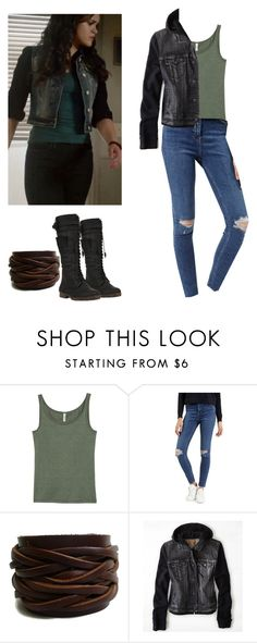 """Hayden Romero - tw / teen wolf"" by shadyannon ❤ liked on Polyvore featuring H&M, Topshop, American Eagle Outfitters and Yoki"