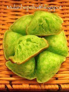 Mulan - bepnha: Bánh bò nướng tam giác