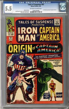 Now available on our store: Tales of Suspense...    http://coloradocomics.com/products/tales-of-suspense-63-cgc-5-5?utm_campaign=social_autopilot&utm_source=pin&utm_medium=pin