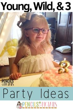 Need ideas for a Young, Wild, and Three themed birthday party? I'm sharing my favorite tips from the invitations, to the outfit, to the decor ideas! #threeyearsold #birthdaythemes #birthdaypartyideas #momlife #birthdaycake