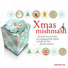 Freebies: Xmas Mish Mash Giftbox | Jinjerup