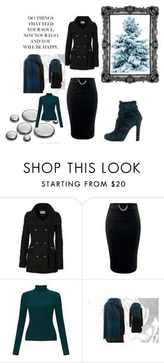 """Winter Shopping"" by nadiasknits ❤ liked on Polyvore featuring LE3NO, Miss Selfridge and Christian Louboutin"