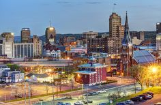 Syracuse, New York; my heart aches in a funny little way. I remember standing on my balcony and seeing alot of these buildings at sunset. Beautiful memories