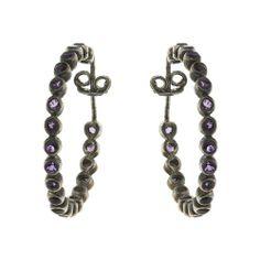 Artist Jewelry Silver Earrings for Women Amethyst Gemstone: ShalinCraft: Amazon.de: Jewelry