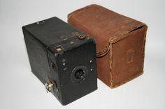 Vintage Box Camera Kodak Original Canvas Etui by Fashion4Nation