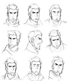 The Dragon Prince on Beard beard drawing Male Face Drawing, Facial Expressions Drawing, Drawing Cartoon Faces, Guy Drawing, Drawing Poses, Face Drawing Reference, Drawing Tips, Drawing Sketches, Male Character