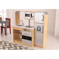 Ultimate Chefs Natural Kids Kitchen Kidkraft Activity & Play Sets Kids Furniture Childrens
