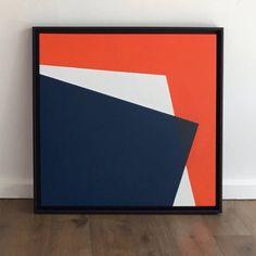 Original Abstract Painting by David Stein Abstract Geometric Art, Abstract Canvas Art, Diy Canvas Art, Geometric Graphic, Abstract Pattern, Plakat Design, Decoration Inspiration, Arte Pop, Minimalist Art