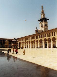 Syria 2001: Damascus / دمش - Umayyad Mosque / الجامع الأموي   Flickr - Photo Sharing!