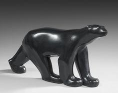 Lot : FRANÇOIS POMPON (1855-1933) - Ours Blanc - Troisième réduction... | Dans la vente Tableaux et Sculptures Modernes et Contemporains, Art Déco, Design à Hôtel des Ventes de Monte-Carlo