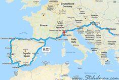 Vacanta de 9000 km imprejurul a doua tari, Spania si Portugalia - 1 - http://www.stilulmeu.com/vacanta-imprejurul-spaniei-si-portugaliei/