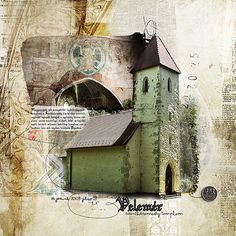 Old church in Hungary (Velemer) Credit: Studio Rosey Posey - 10 reasons, Oscraps: Comfort, Anna Aspnes: Saffron Villas, fotomask, Vinnie Pearce: Pieces of me, Christine Smith: Brighter Days Fonts: Arsenale White, Argor Biw Scaqh